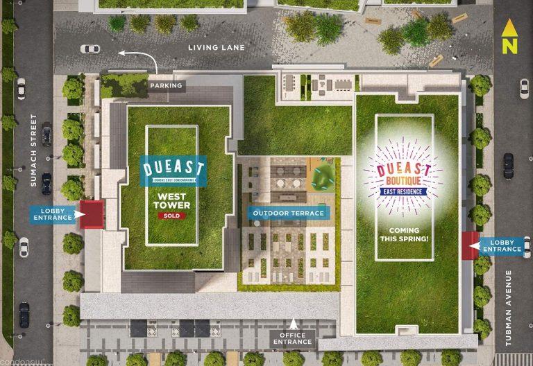 DuEast-Boutique-Condos-Site-Plan
