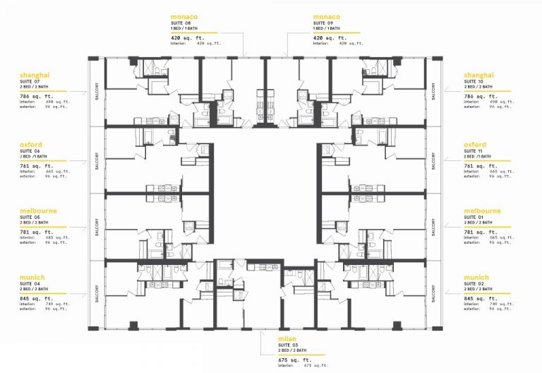 Typical-Lower-Floor-Keyplate-at-Exchange-District-Condos-2