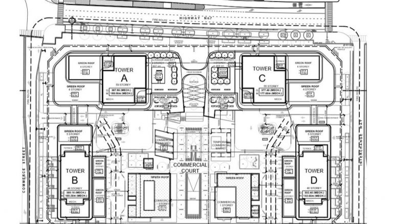Festival-Condos-Aerial-Site-Map-of-Master-Planned-Community-by-Menkes-08