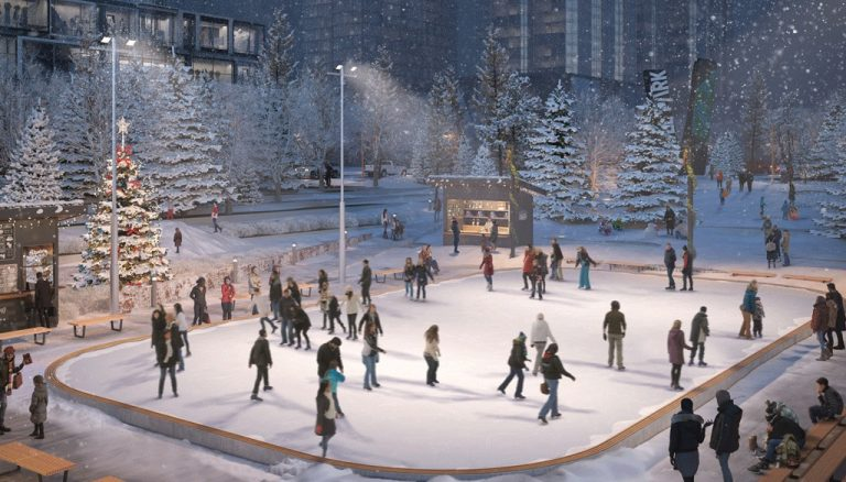 Grand-Festival-Condos-Winter-Wonderland-Sunken-Plaza