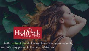 High Park Urban Towns in Aurora
