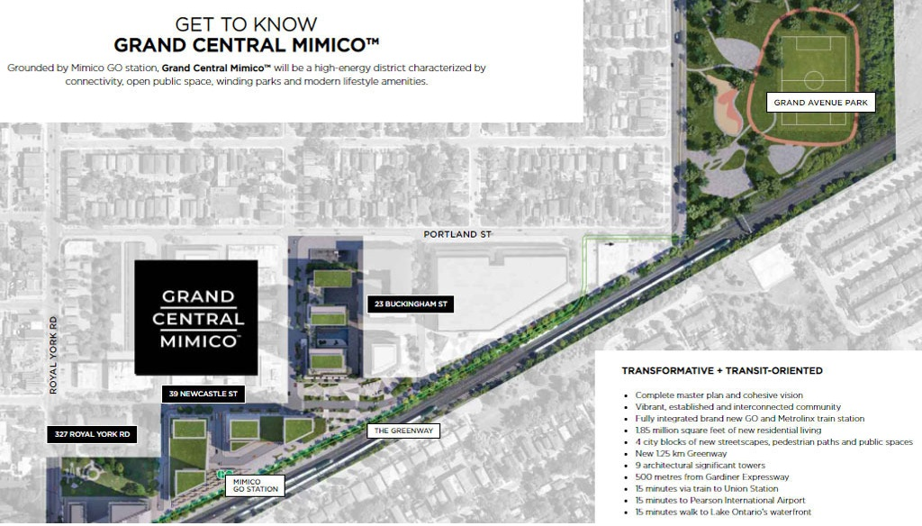 Grand-Central-Mimico-South-Tower-Location-Map