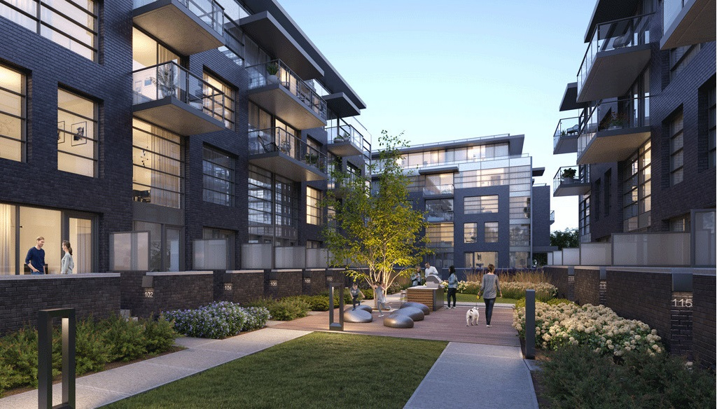 Landing-Condos-Whitby-Harbour-Community-Courtyard