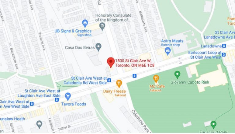 1500-St-Clair-Ave-West-Condos-Map