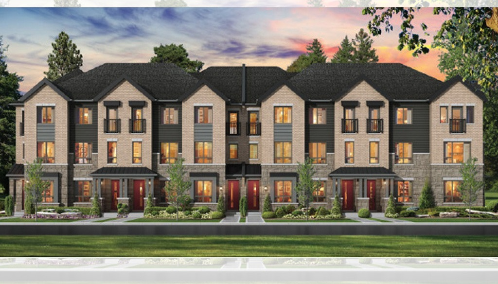 Royal-Oaks-Street-Level-View-of-Townhome-Exteriors