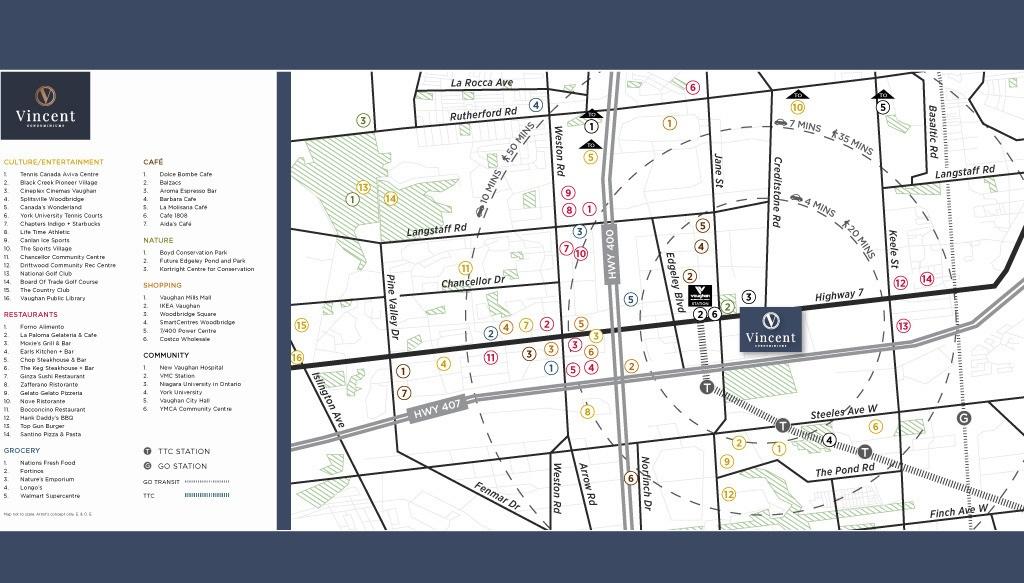 Vincent-Condos-Map-and-List-of-Neighbourhood-Amenities